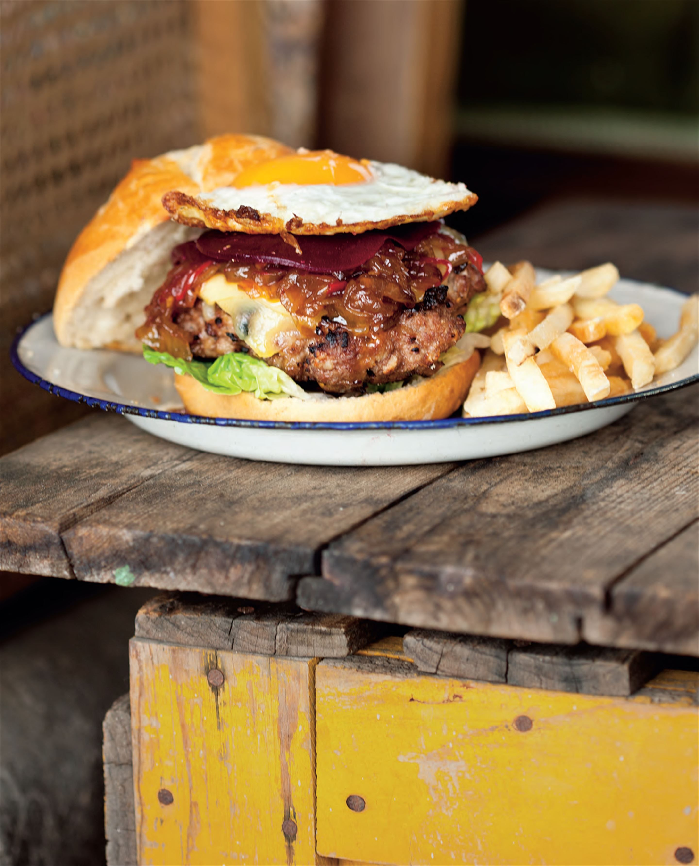 Aussie damper Wagyu burger recipe from Have You Eaten by Billy Law | Cooked