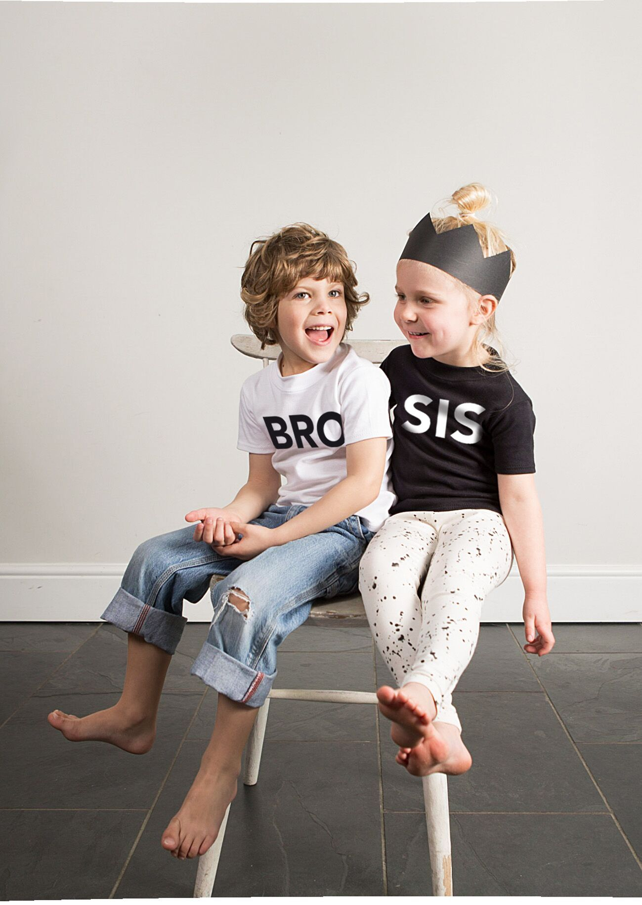 Modern Brother and Sister Tees on DLK