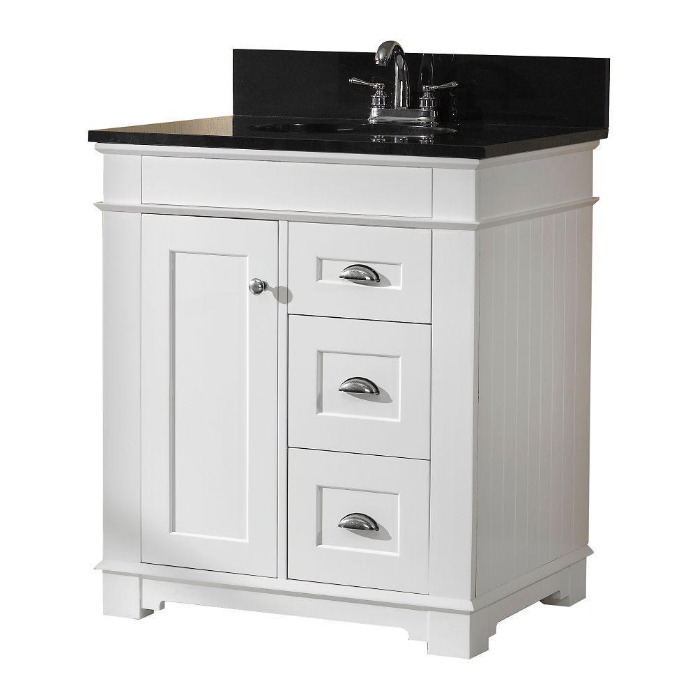 30 in w charlotte vanity base the home depot canada