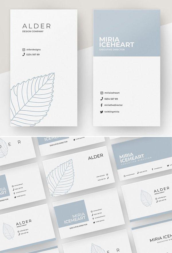 Professional Business Card Templates – 25 Print Ready Design | Design