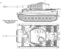 Чертежи танков с размерами