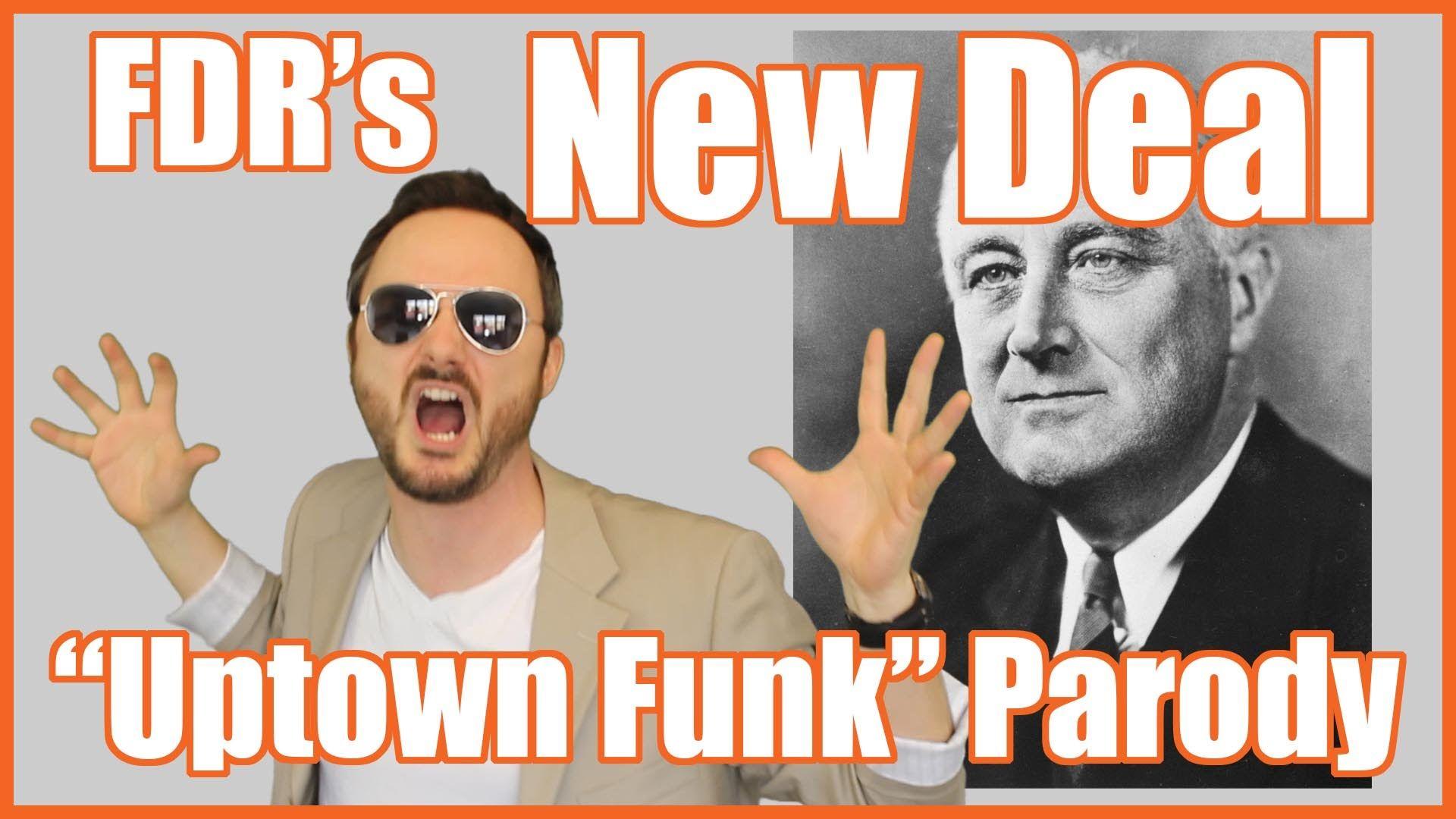 New Deal Uptown Funk Parody Mrbettsclass Teaching History Teaching American History Social Studies Middle School