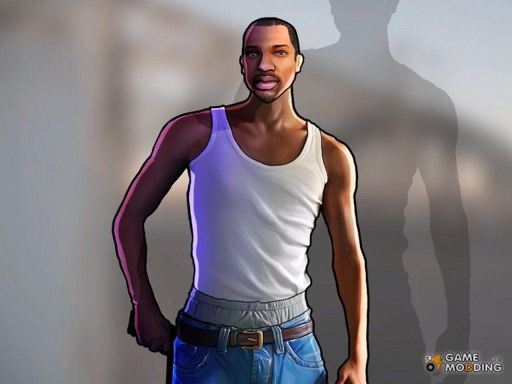 20c08dee314 Carl Jonhson Artwork (GTA San Andreas)   Gamer for life   San,reas ...