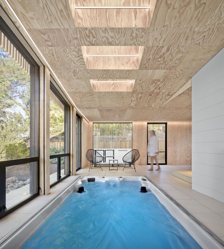 Gallery Of Los Altos Poolhouse Framestudio 3 Casas Com Piscina Casas Tradicionais House