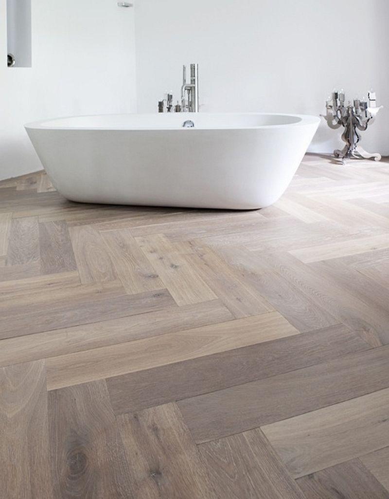 Zigzag 106er Oak Stone Herringbone Wood Floor White Oak Floors Herringbone Floor