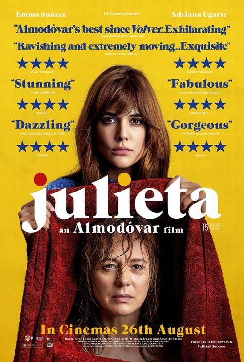 Julieta elokuva juliste.