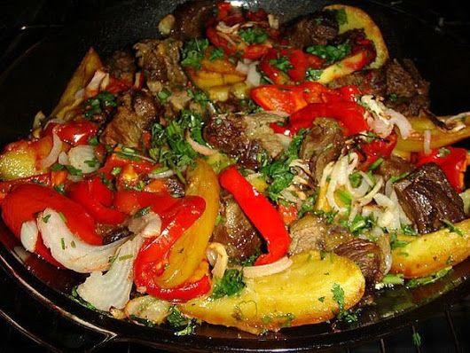 Оджахури.  | Школа вкуса  - вкусные кулинарные рецепты
