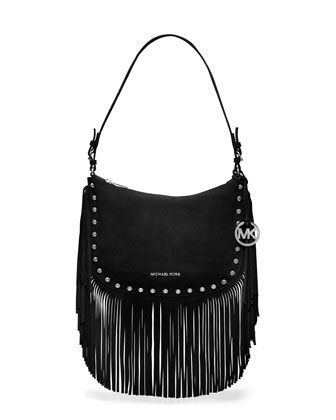 826cf78d3a564a Michael Kors, usually don't like purses with fringes like this but I love  this.. probably because it's MK