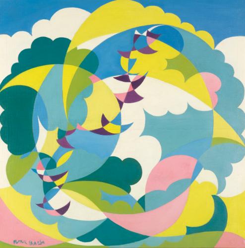 balla, giacomo paesaggio + volo ||| abstract ||| sotheby's l14004lot79n6qen