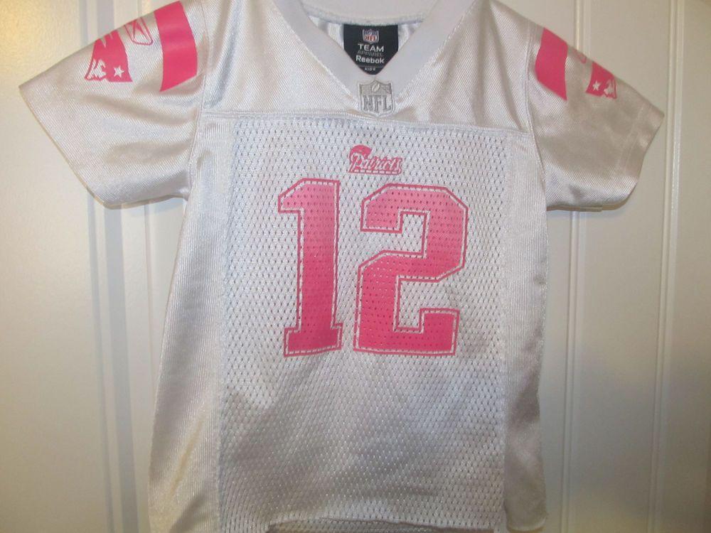 new arrival 73862 75222 Tom Brady - New England Patriots Pink Jersey - Reebok Infant ...