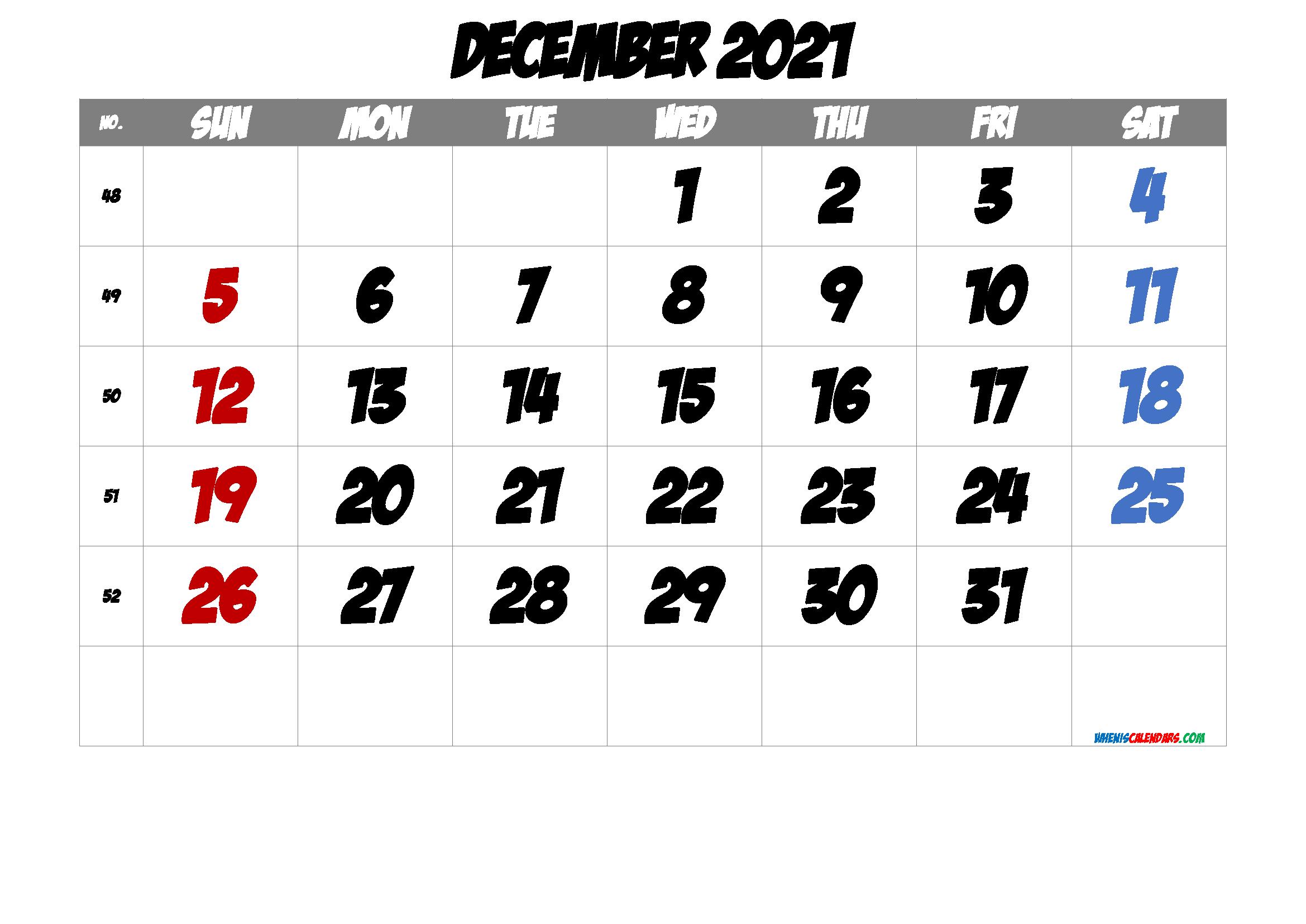 2021 December Free Printable Calendar Free Premium In 2020 2021 Calendar Printable Calendar Printable Calendar Template