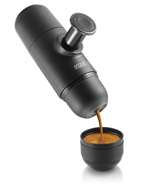 Minipresso portable espresso machine coffee maker outdoor travel mug