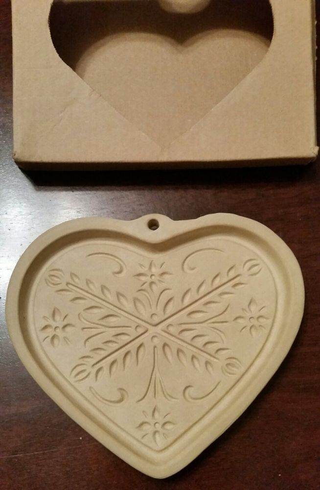 VINTAGE - Pampered Chef cookie mold Anniversary Heart. Collectible ...