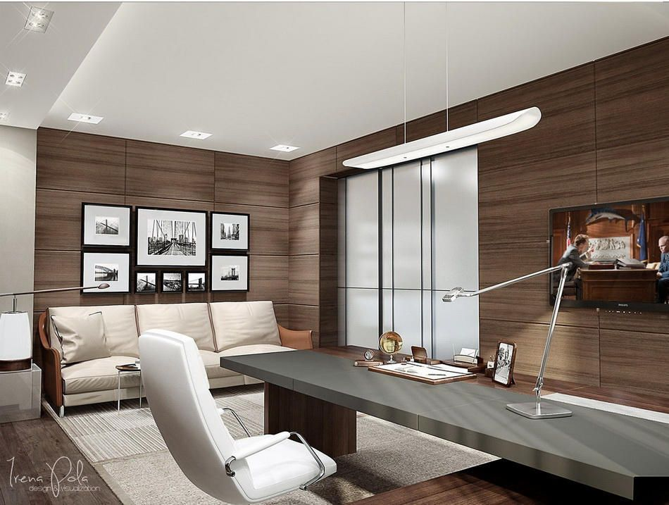 ultra modern home office modern interior design