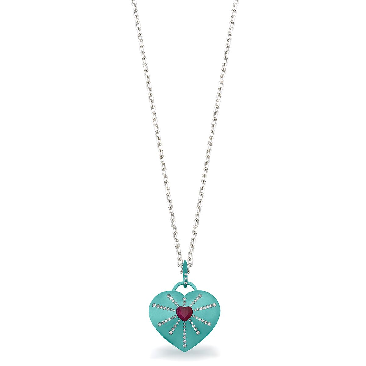 """Love Lock"" locket pendant - Designer Jewelry Auction ..."