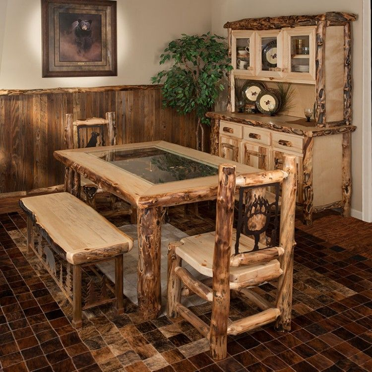 Make A Dining Room Table: Custom Make Your Own Dining Room Set With This Aspen