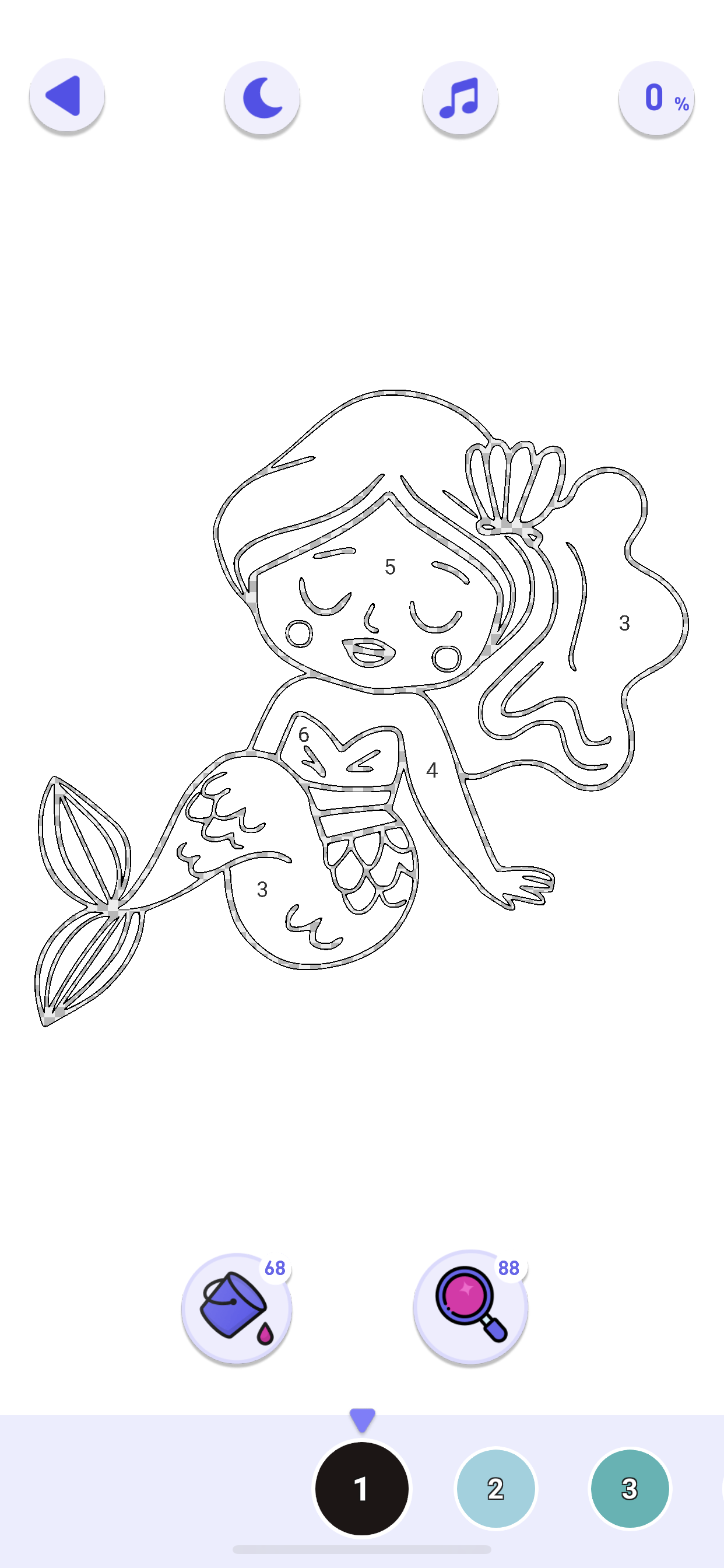 Best Coloring Pages Install For Free Paint By Numbers Happy Color Color By Numbers Free Coloring Pictures Unique Coloring Pages Happy Colors