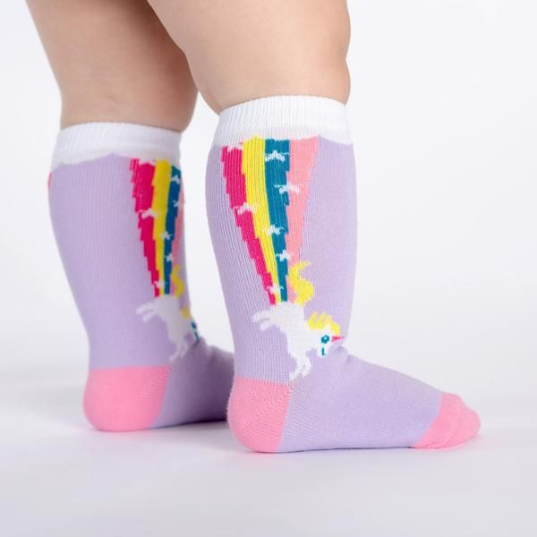 1d4c2dd0217 Rainbow Blast Knee High Socks