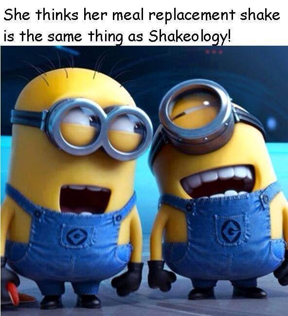 Ouch! A little cruel but true! Shakeology is not the same as juicing or a protein drink!