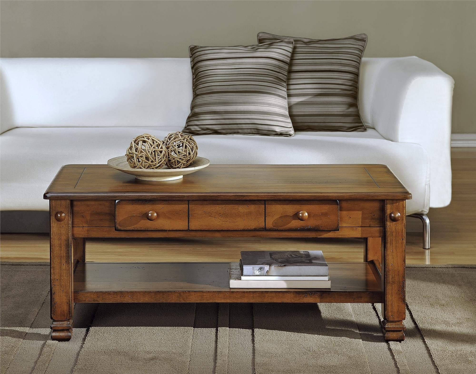 ameriwood home summit mountain wood veneer coffee table on stunning wooden metal coffee table id=56193