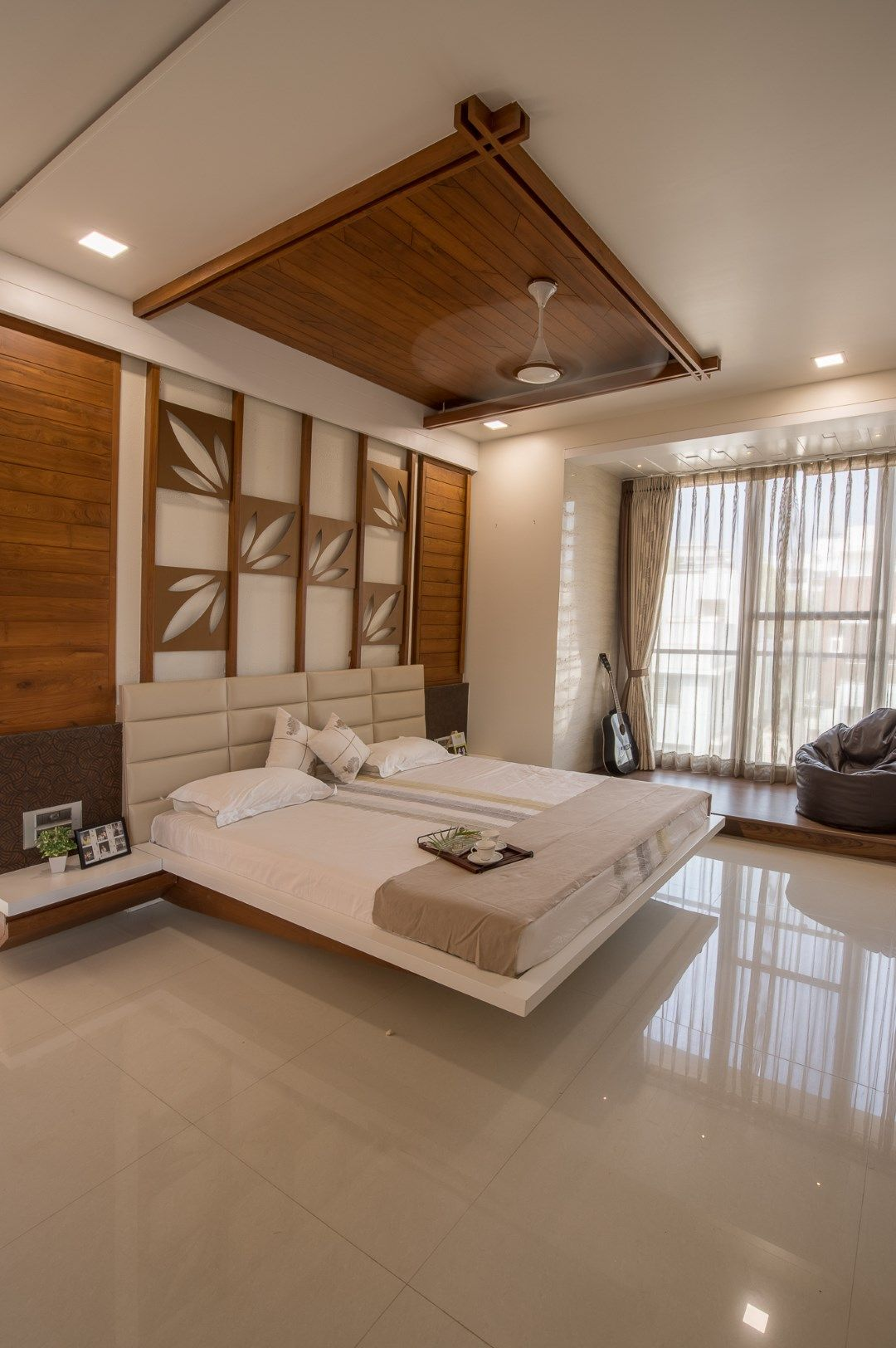 The Contemporary Cubic House Modern Bedroom Design Bedroom
