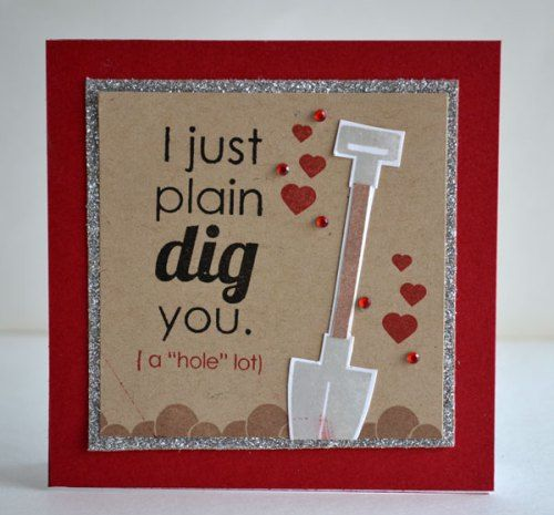 oh, good golly! what a fun idea for a valentine's day card for a, Ideas