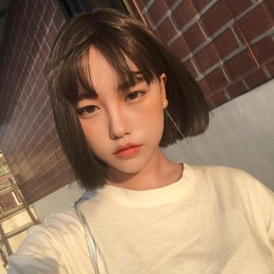 Pale Ulzzang And Girl Image Ulzzang Short Hair Asian Hair Short Hair Styles
