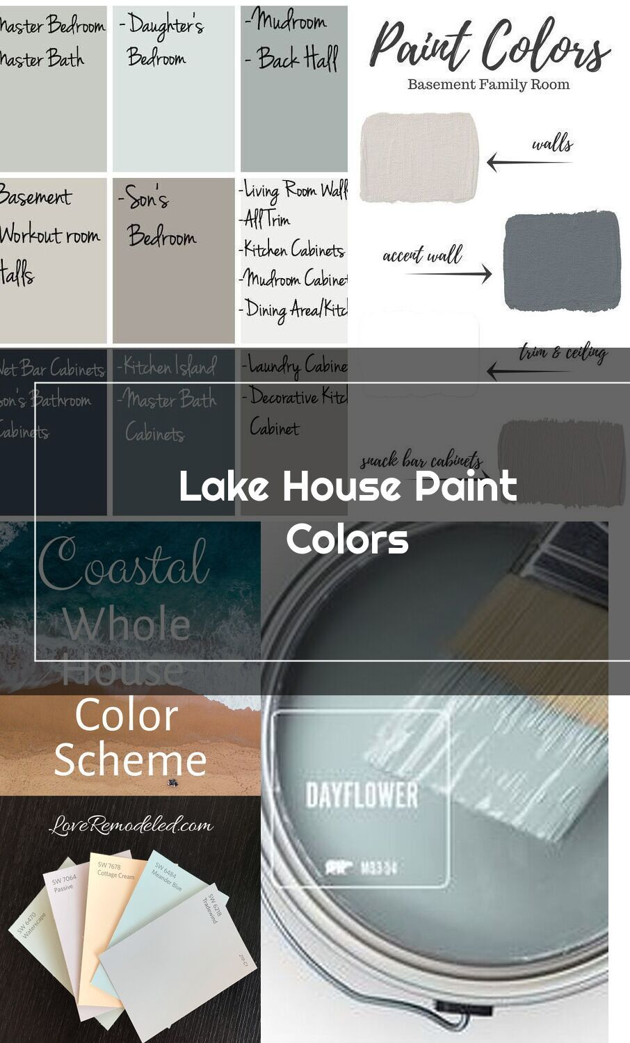 lake house paint colors the lilypad cottage in 2020 on lake house interior color schemes id=88711