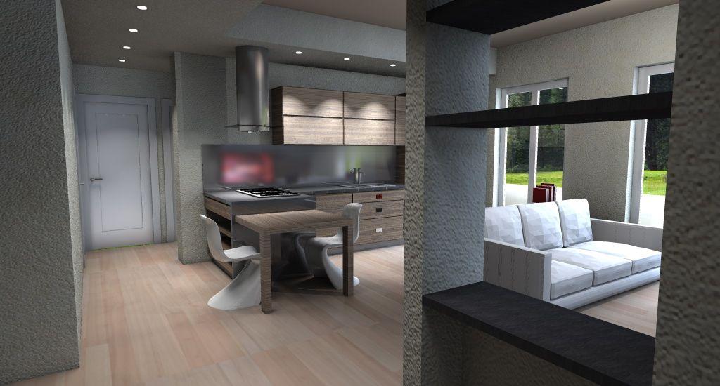 Risultati immagini per cucina soggiorno unico ambiente | Home ...