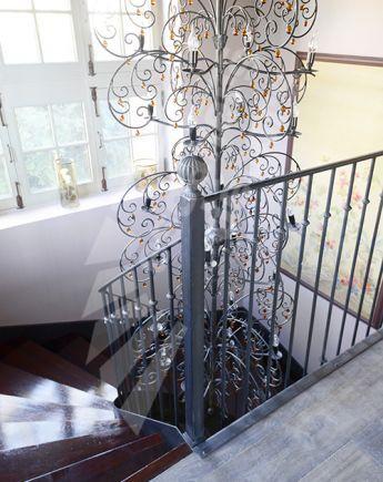 Photo DT122 - ESCA\u0027DROIT® 2/4 Tournants Escalier d\u0027intérieur