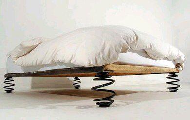 More Car Suspension Bed Frame
