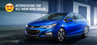 The 2016 Chevrolet Cruze Guarantees Convenience With The 24 7