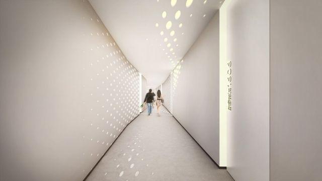 Opus Office Tower-Gebäudeinnere Zaha Hadid-Innenarchitektur ...