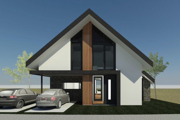 Nieuwbouwwoning Bornsche Maten | Borne - AL architectuur