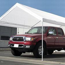 Carports Abba Patio 12 X 20feet Heavy Duty Domain Carport Car Canopy Shelter With 2 Removable Side Panels 1 Door Panel Car Canopy Canopy Shelter Car Shelter