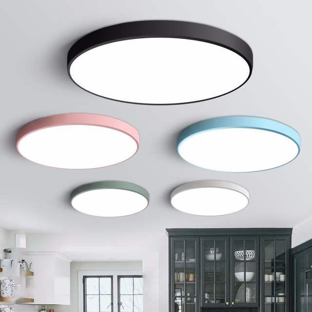 Led Deckenleuchte Moderne Lampe Wohnzimmer Beleuchtung Leuchte Schlafzimmer Kuche Oberflache Montieren Flush Panel Fernbedienung Moderne Lampen Wohnzimmer Lampen Wohnzimmer Moderne Lampen