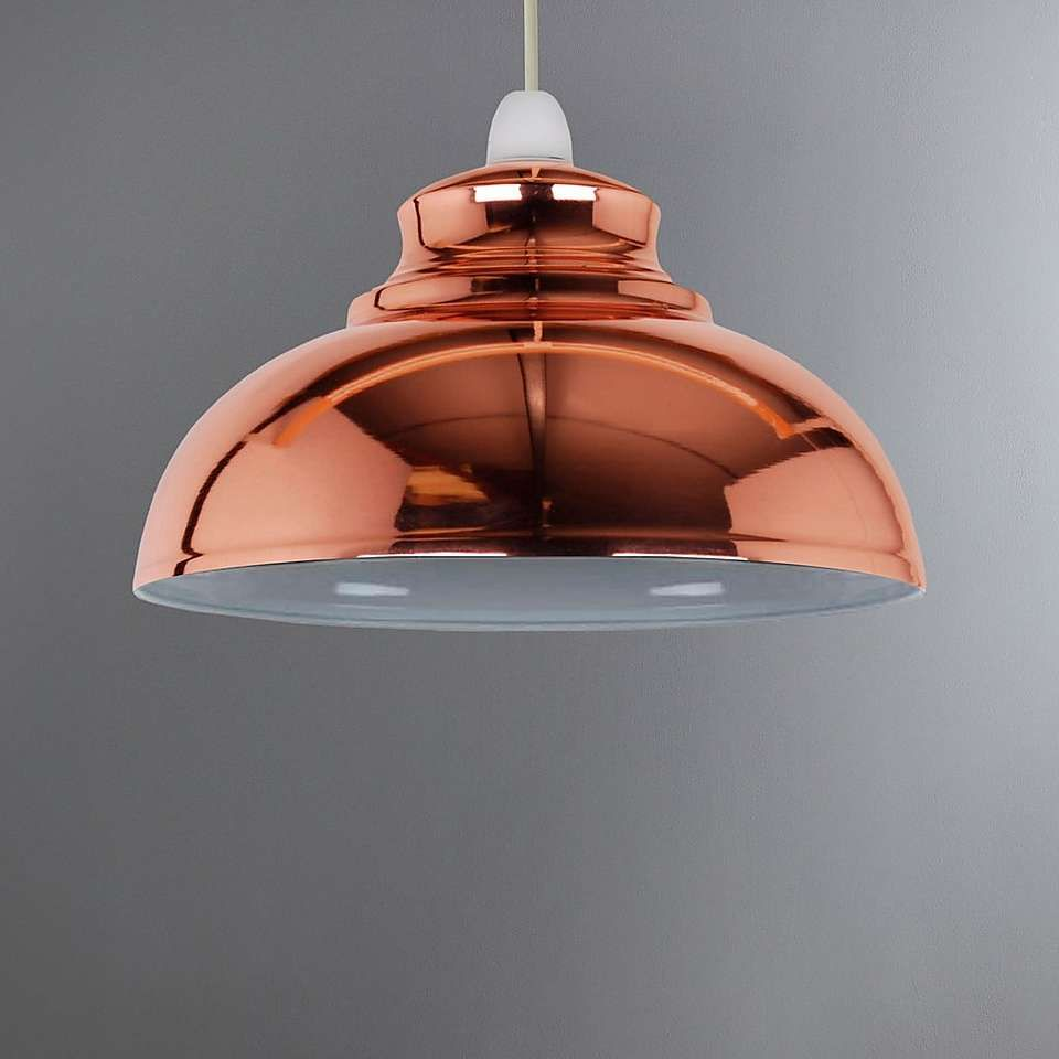 Dunelm Appleton Galley Contemporary Design Copper Orange