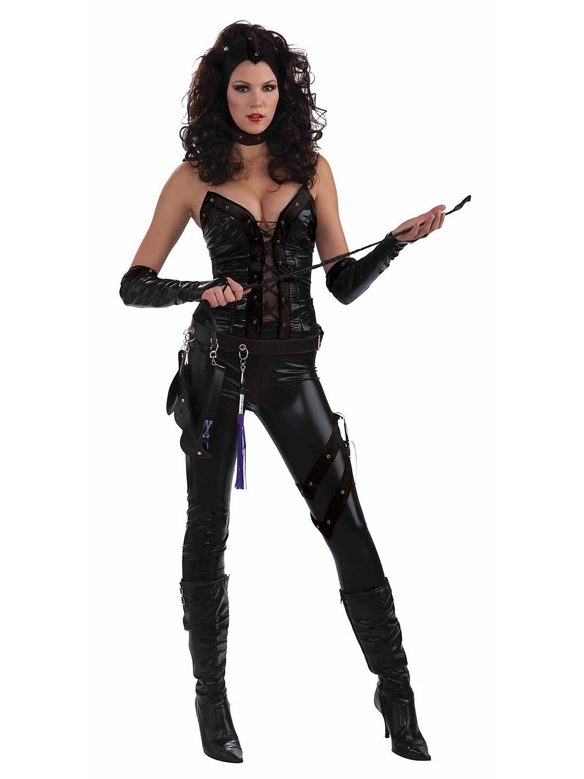 Female Warrior Costume Adult Medieval Executioner Gothic Dominatrix Fancy Dress