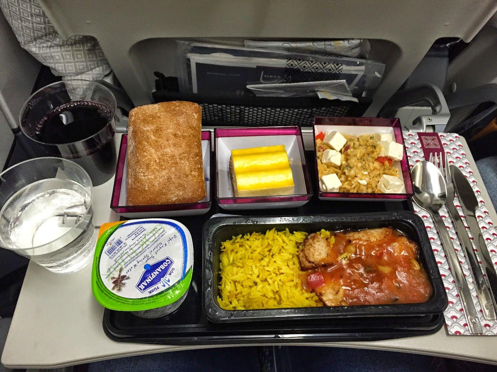 Výsledek obrázku pro qatar airways food