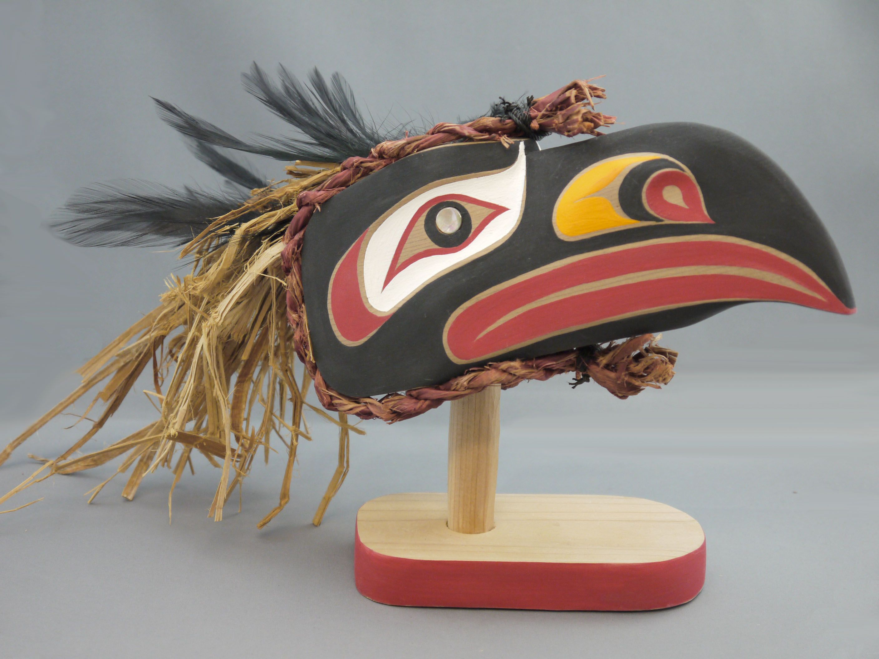 """Pin By Tiki T On Artsy Fartsy In 2019: The MOA Shop: """"Raven Mask"""" By Rupert Scow."""