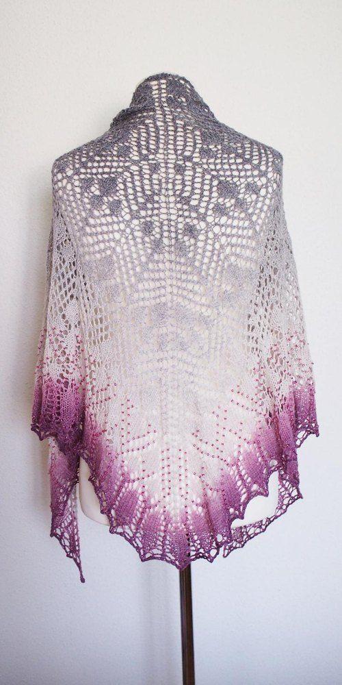Poesia | Shawl Knitting Patterns | Pinterest