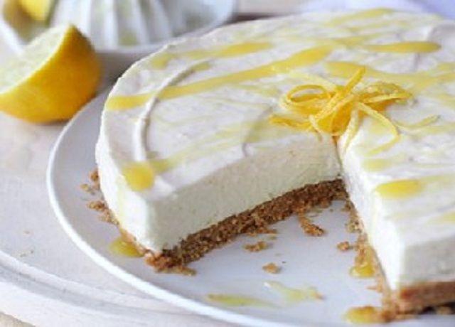 Receita de Cheesecake de Limão | Doces Regionais