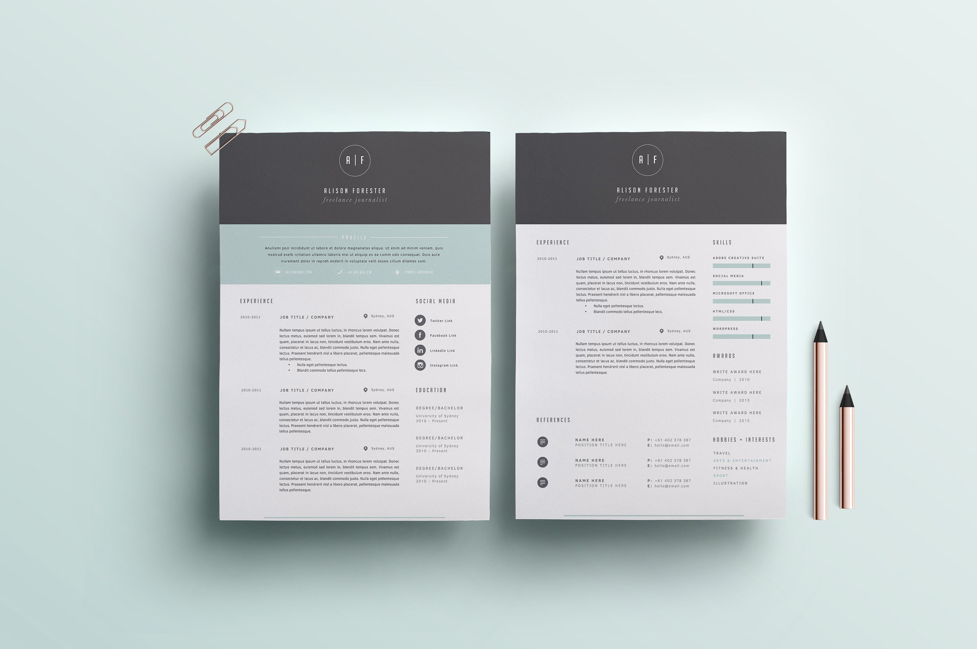 letter format for application%0A Resume Template   Page   CV Template  Resumes