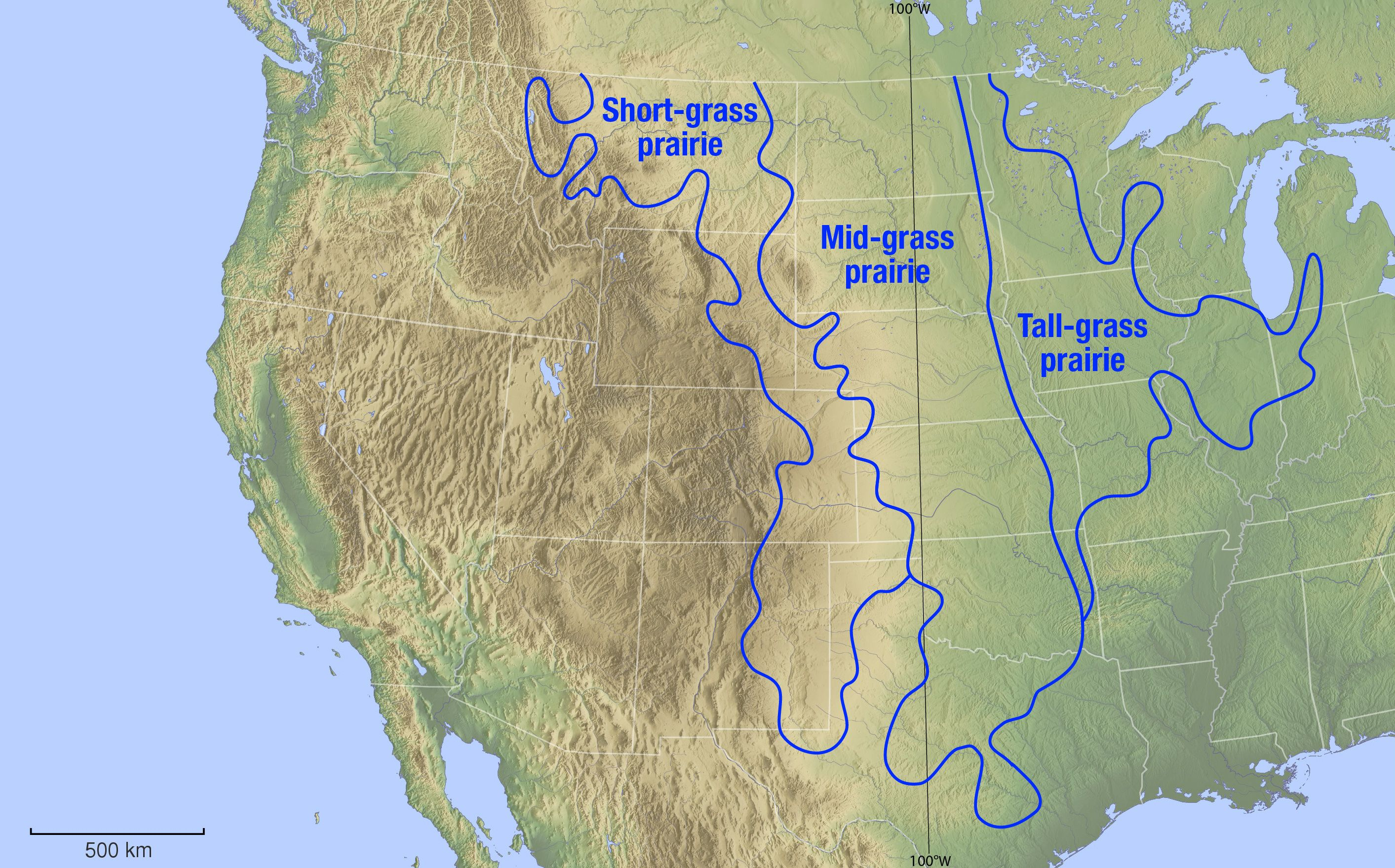 Geographical Map Of Great American Desert Google Search True - American desert map