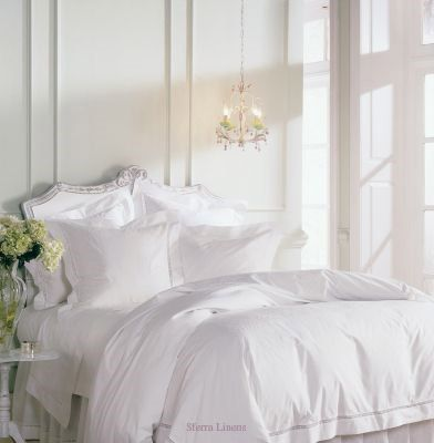 There is just something about a big white fluffy bed that seems so