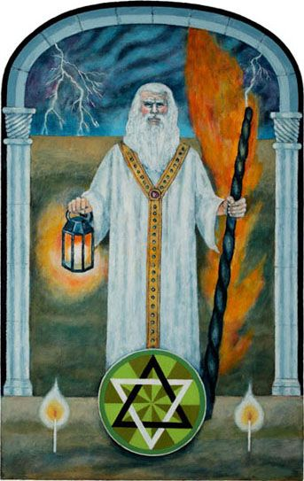 Jungian Tarot: The Hermit