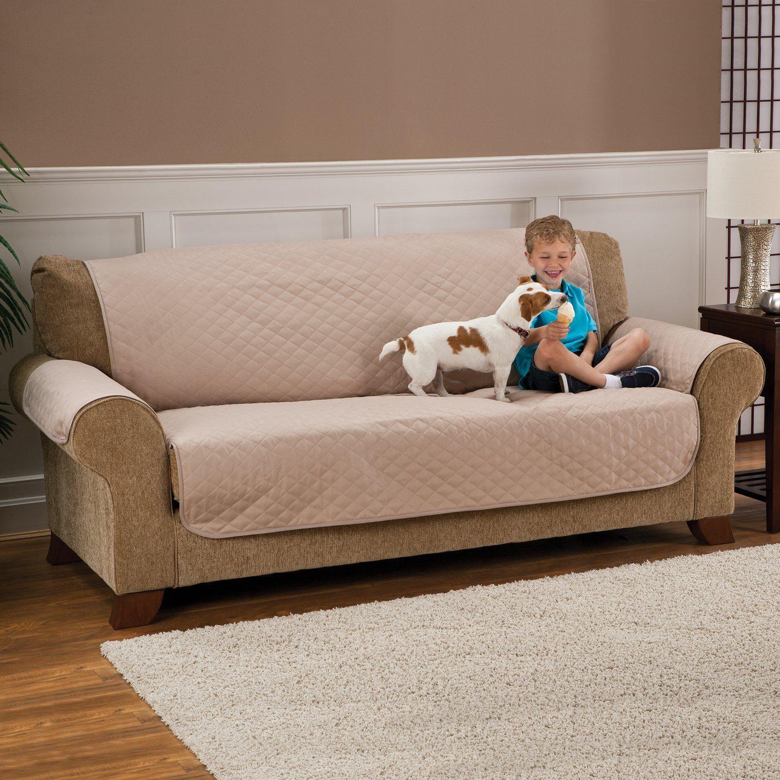 Leather Sofa Madison Water Proof Sofa Pet Protector hayneedle