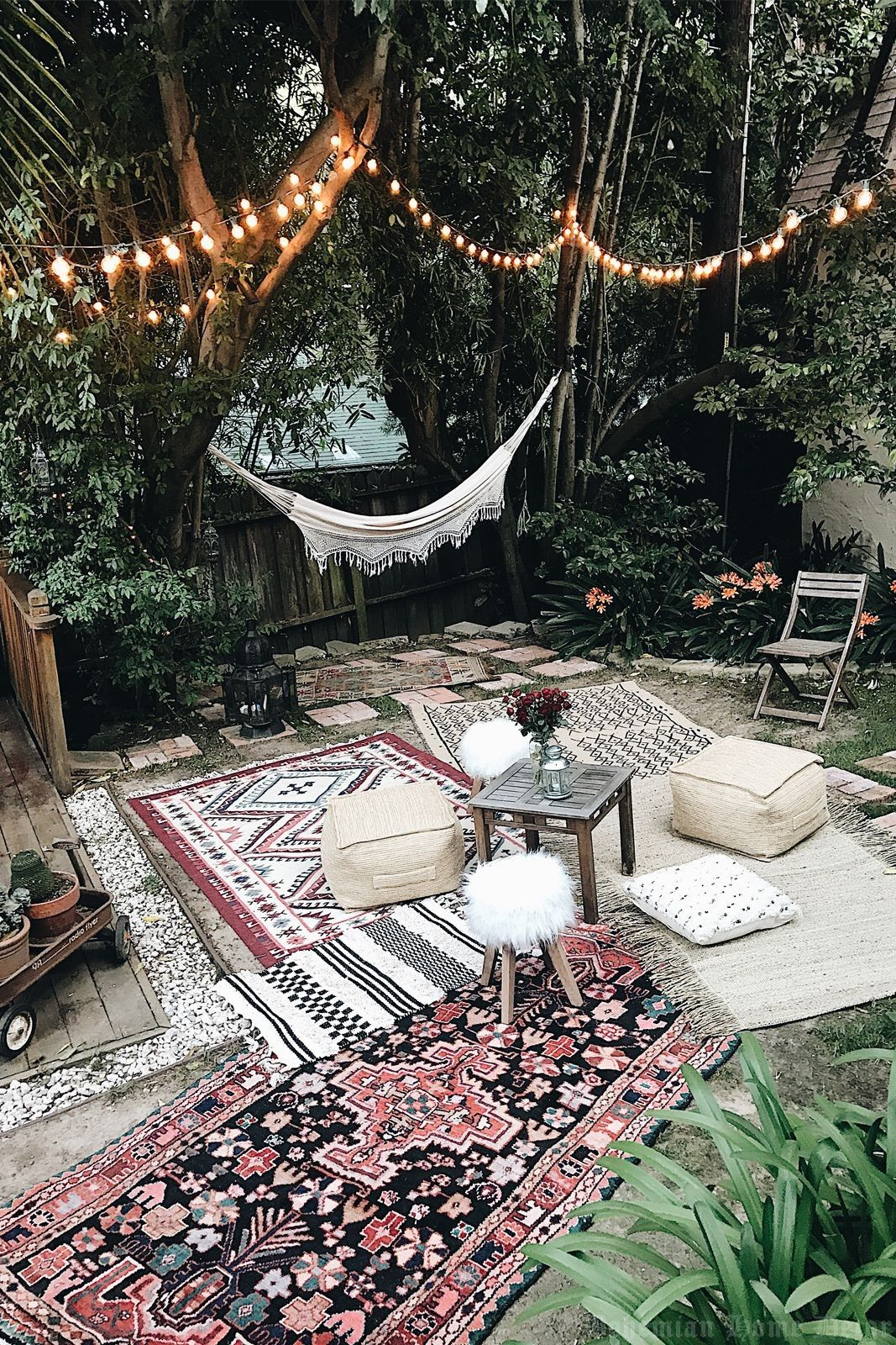 Bohemian Home Decor Tip: Shake It Up