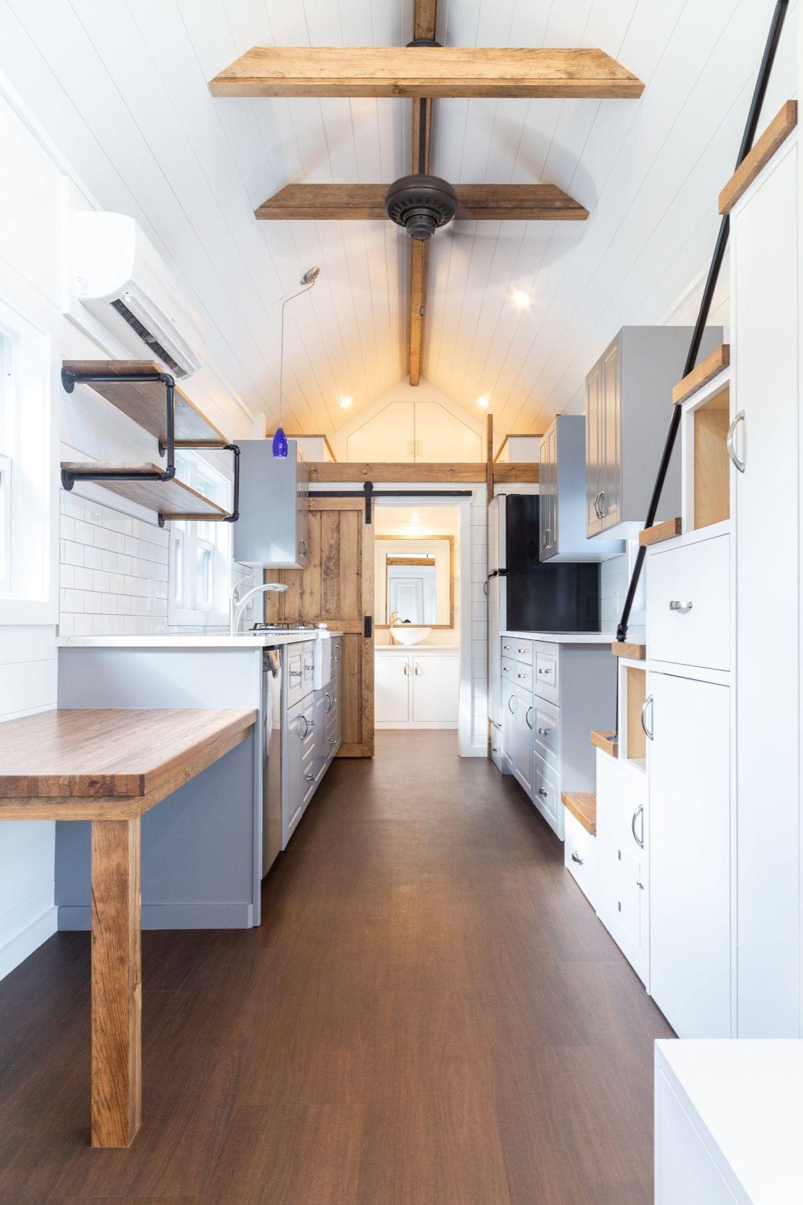 28ft Farmhouse By Liberation Tiny Homes 002