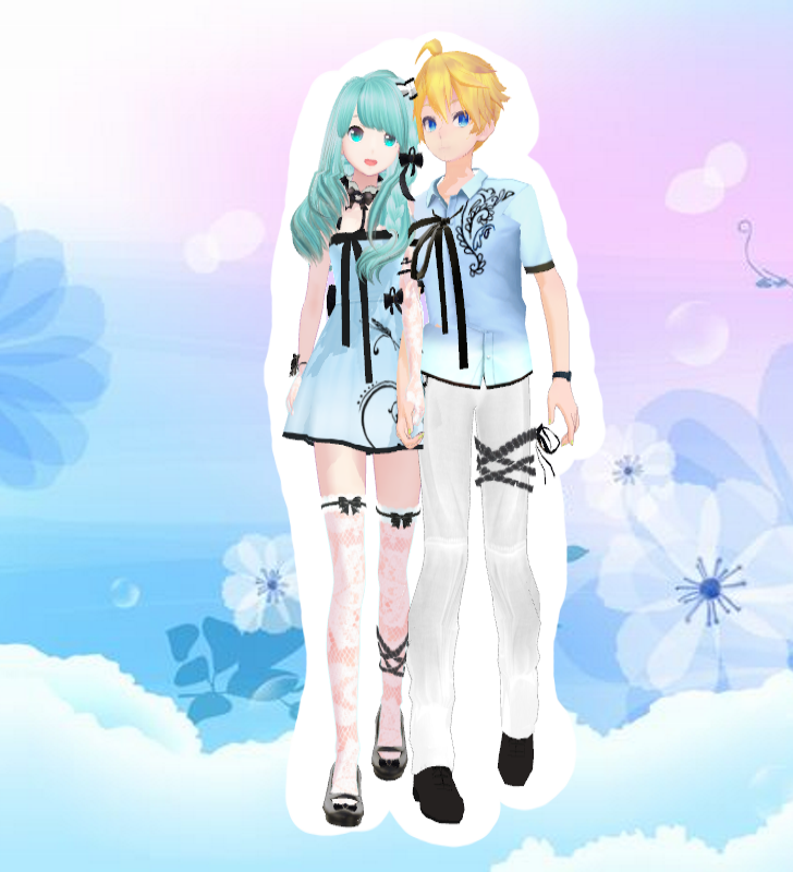 Pin by つみき (๑ゝω・)ノ♡ on MMD (。>‿‿<。 ) | Vocaloid